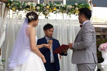 2021.4.10朱許府戶外證婚(台中世貿)