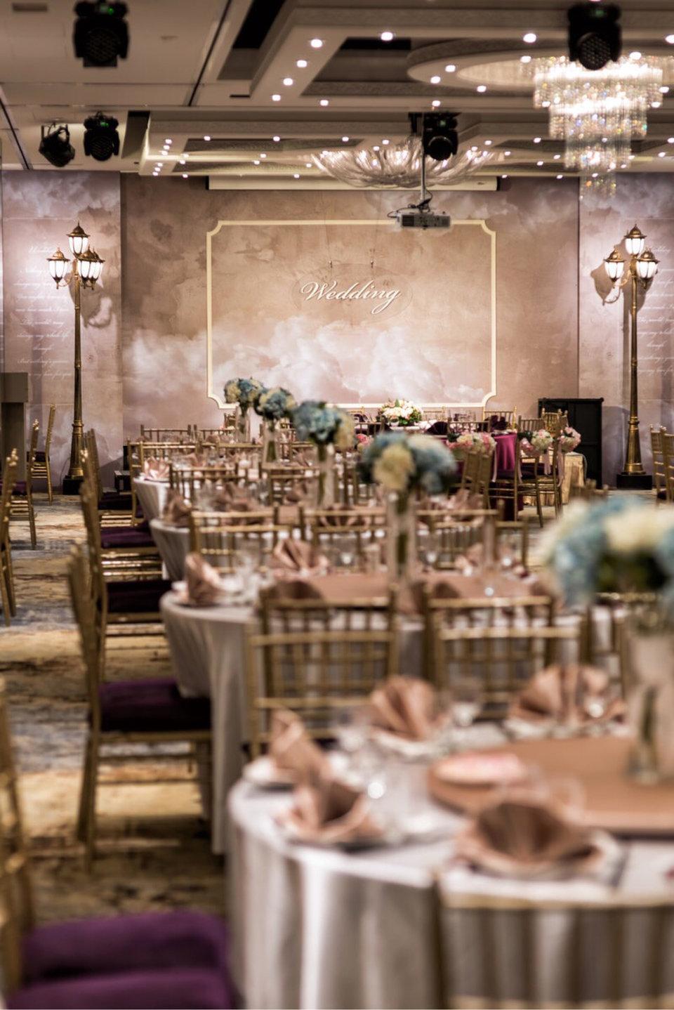 彭園婚宴-壹品宴,彭園-壹品宴是我們第一間參觀就下訂的餐廳。
