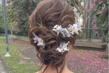 熱門新娘指定髮型