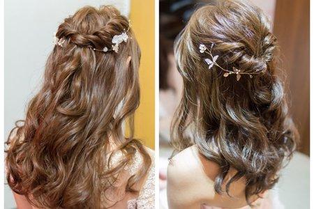 婚禮造型-非盤髮