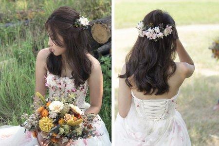 婚紗造型-非盤髮