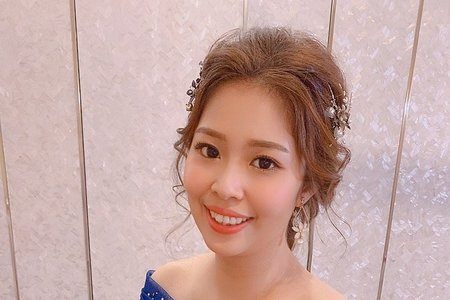 新秘現場實作分/品樺wedding