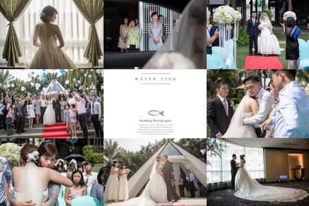 守威&雨潔 婚禮紀錄(台南 桂田中信戶外婚禮)
