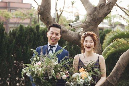 桃園青青風車莊園婚禮紀錄|美式風格婚禮
