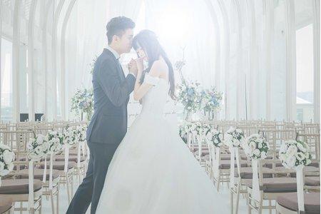 台中萊特薇庭婚禮紀錄|韓式夢幻婚禮場地。
