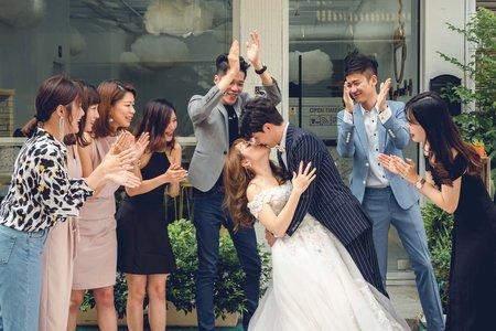 台中婚禮攝影 | 咕嗼咖啡 | 親愛的,我們不小心拍了一部韓劇。