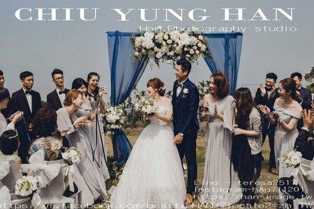 華山觀止虫二行館婚禮紀錄|夢想中的超浪漫戶外婚禮。