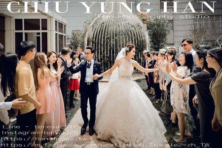 台中林酒店婚禮紀錄|當高CP值攝影師,遇上明星級御用造型師。