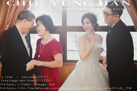 台中婚禮紀錄|大里大和屋婚宴|帶著寶貝結婚去。