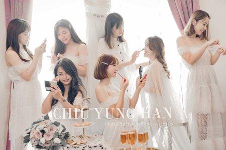 婚禮紀錄|全天婚禮紀錄|就是要跟姐妹拍閨蜜照。