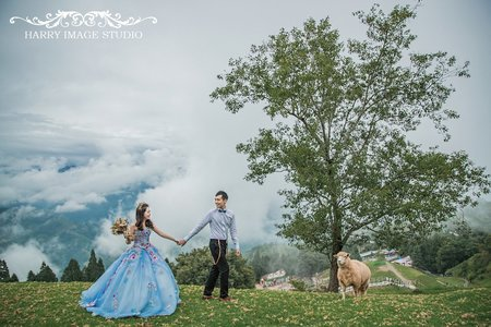 Evan+Carrie 『自助婚紗』