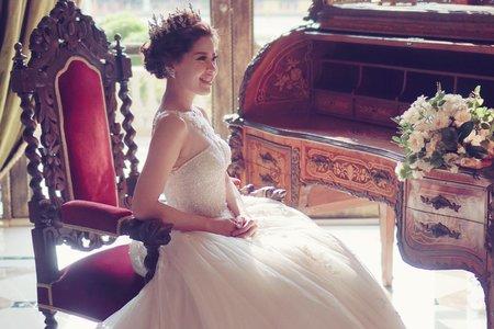 喜歡華麗風的新娘