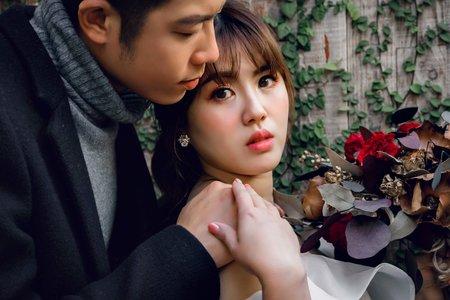 台中婚紗攝影|清新女 vs 霸氣男 書婷&協志
