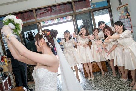 瑞鴻嘉珍婚禮迎娶