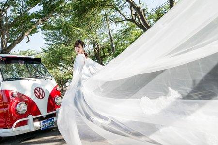 婚紗外拍車