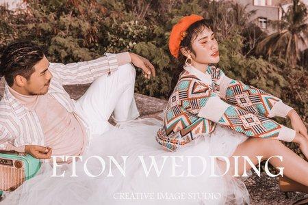 新北市板橋婚紗包套 -訂結同天