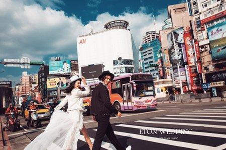 潮拍西門町|自主婚紗攝影