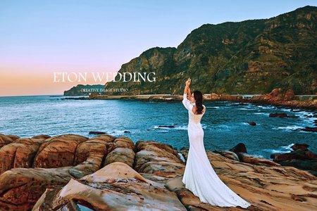 南雅奇岩婚紗|美式風格-板橋婚紗工作室
