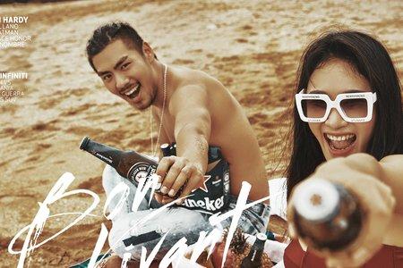墾丁拍婚紗-陽光。沙灘。和你