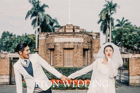 板橋婚紗攝影|校園風@台灣大學