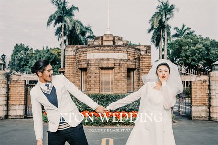 【心心相印】新北市板橋自助婚紗攝影工作室