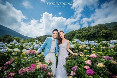 伊頓板橋婚紗推薦-💓陽明山婚紗精選💓