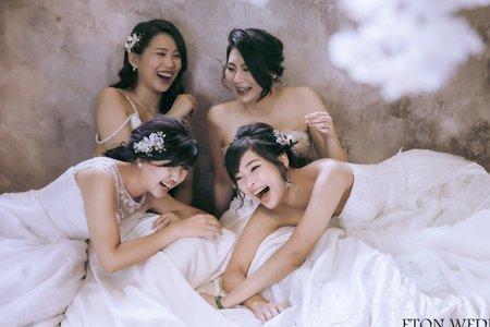 【新北閨蜜婚紗推薦】板橋閨蜜婚紗拍攝