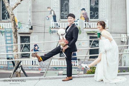 WEI&HAN | 台北玩拍婚紗 | 伊頓自助婚紗