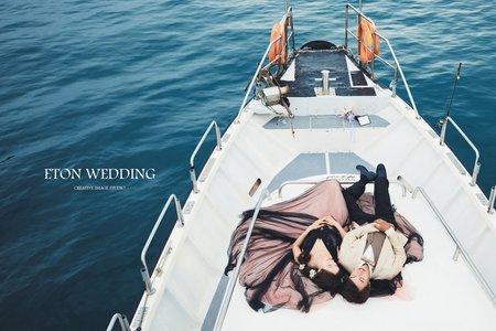 海中戀曲 | 婚紗攝影推薦 | 伊頓自助婚紗