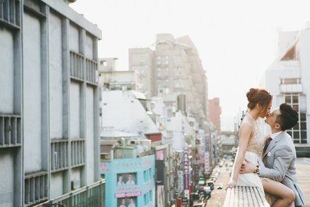 ☞ Apple & Allen|美式婚紗。台灣 ☜