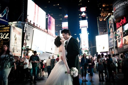 ☞ Tina & Eric 海外婚紗。紐約 ☜