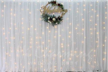 【簡約小清新】婚禮背板方案