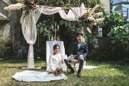 戶外草地婚禮🌵雪拉Cera-美式造型師