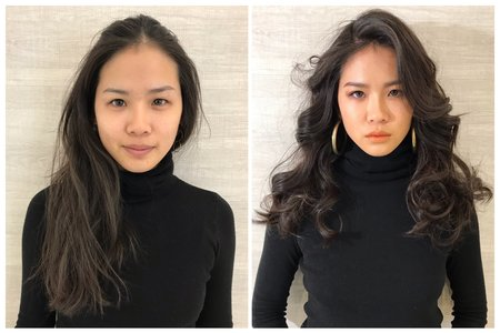 妝前妝後🌵Cera雪拉-美式造型師