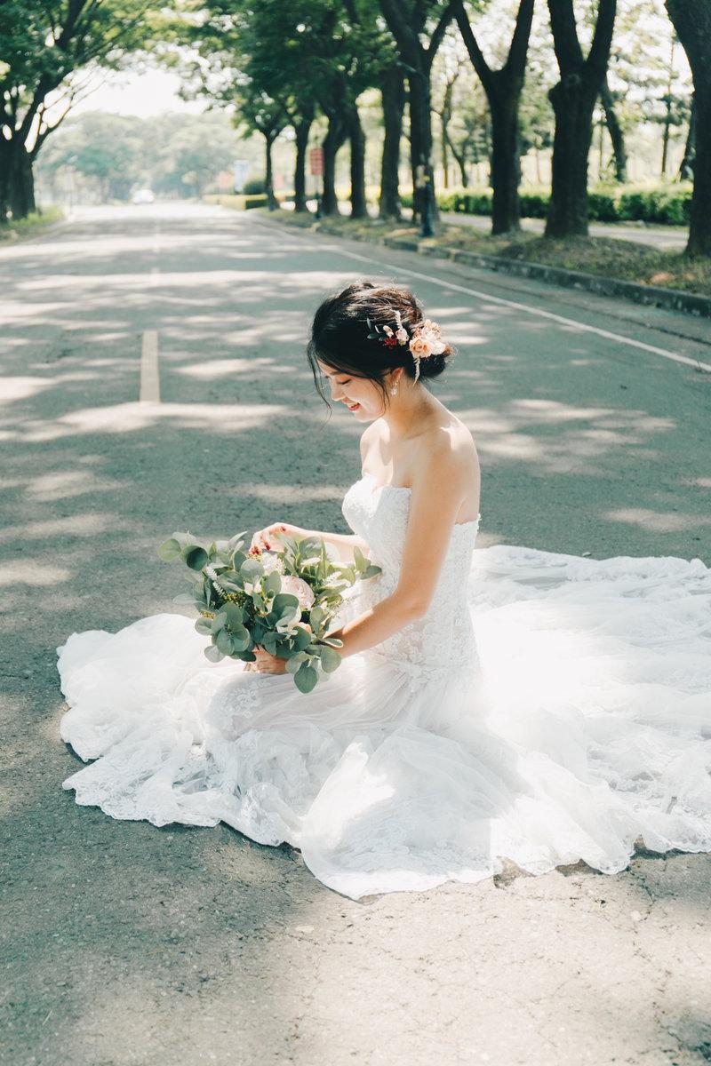 生活感婚紗|白紗一套+自備便服一套作品
