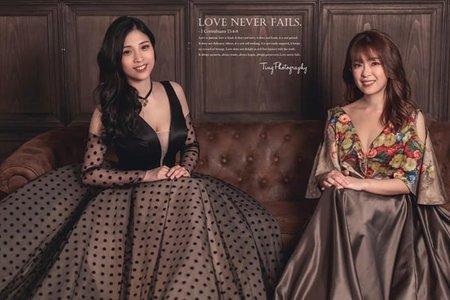 閨蜜婚紗 Rosa& 娉萱