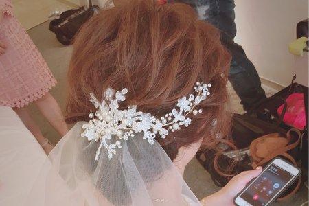 婚禮現場新娘