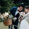 一場夢幻的美式婚禮,完美的捧花、妝髮、白紗、飾品、佈置都缺一不可,最重要的還是你們的笑容