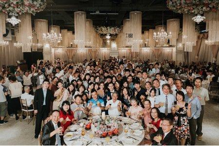 民權晶宴16樓婚攝 | 香榭玫瑰園婚禮紀錄