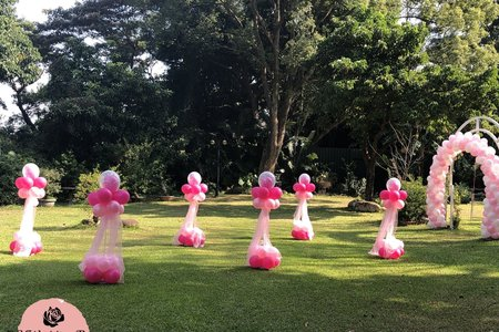 繽紛熱鬧的氣球專案!!!