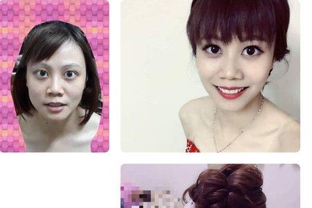 梧棲新秘-短髮造型