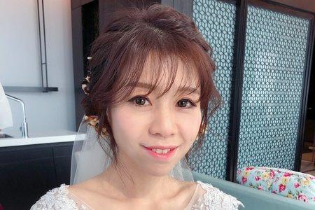 陳婷婷新娘秘書/浪漫編髮造型