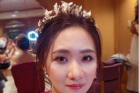 陳婷婷新娘秘書/婚宴現場造型