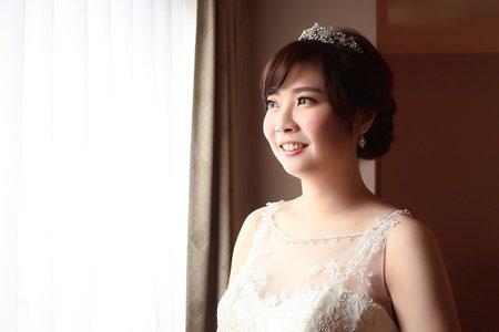 台北新秘綠茵@第一大飯店 結婚白紗造型