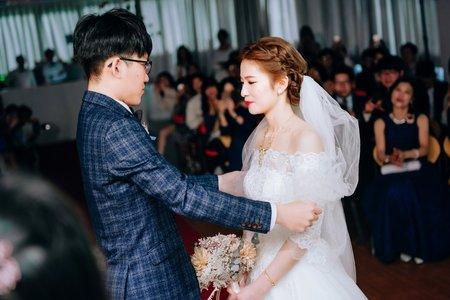 【婚攝】晏晴&庭竹|婚禮攝影|桃園平鎮晶麒莊園 中壢旌旗教會