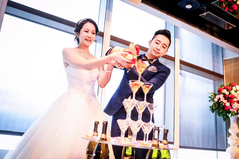 幸福香檳塔儀式 - 欣葉食藝軒Taipei 101《結婚吧》