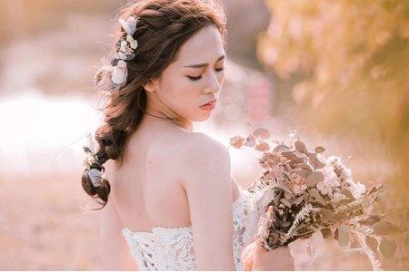 妘婕婚紗造型