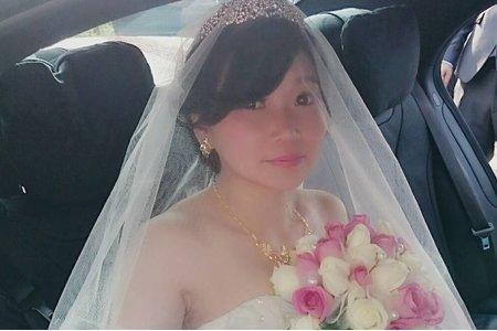 羽珊訂結婚宴造型