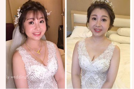 慧鈺結婚婚宴造型
