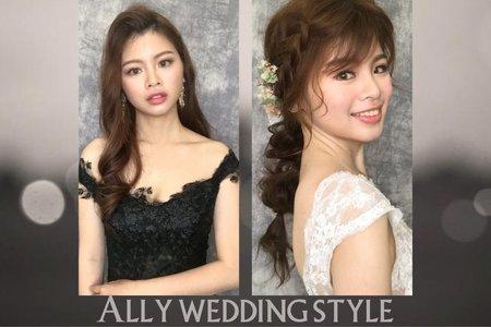 婚紗婚宴造型